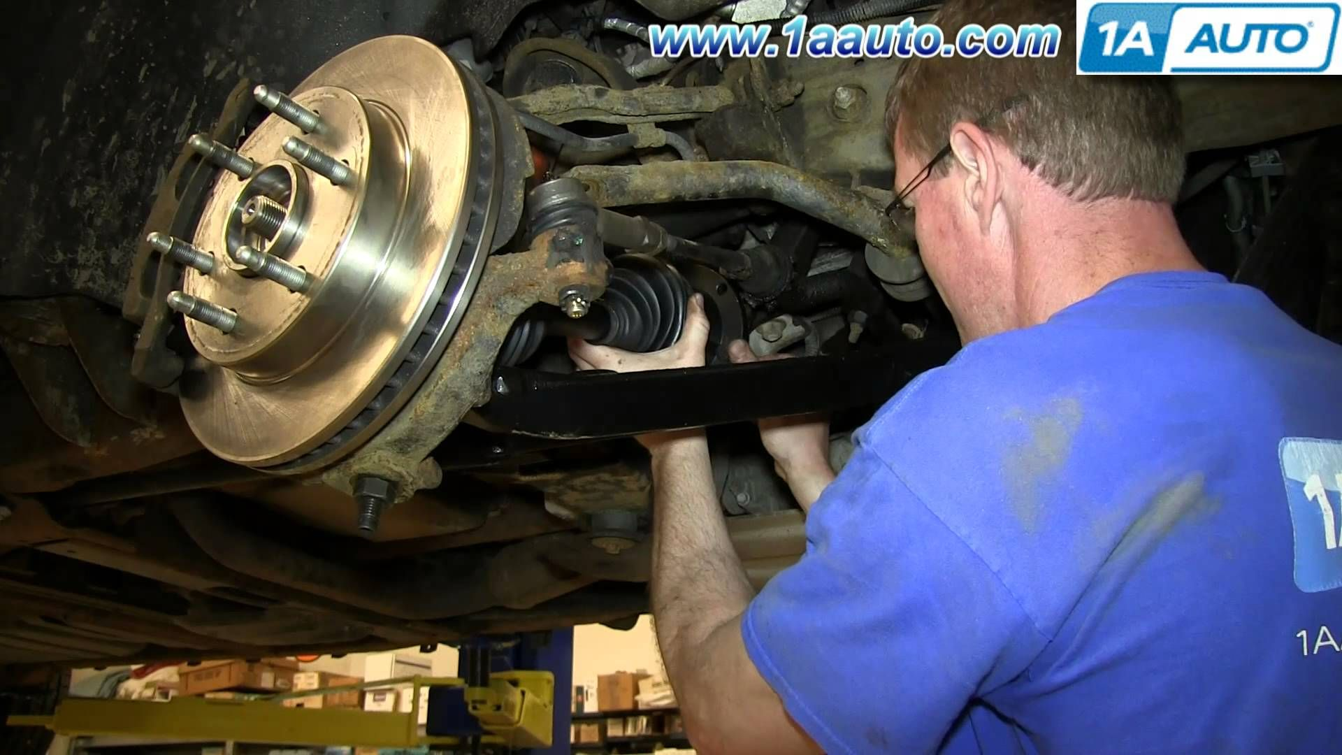 How To Install Replace Front Axle 200006 Chevy Suburban
