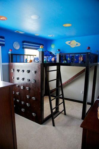 Boys Bedroom Loft