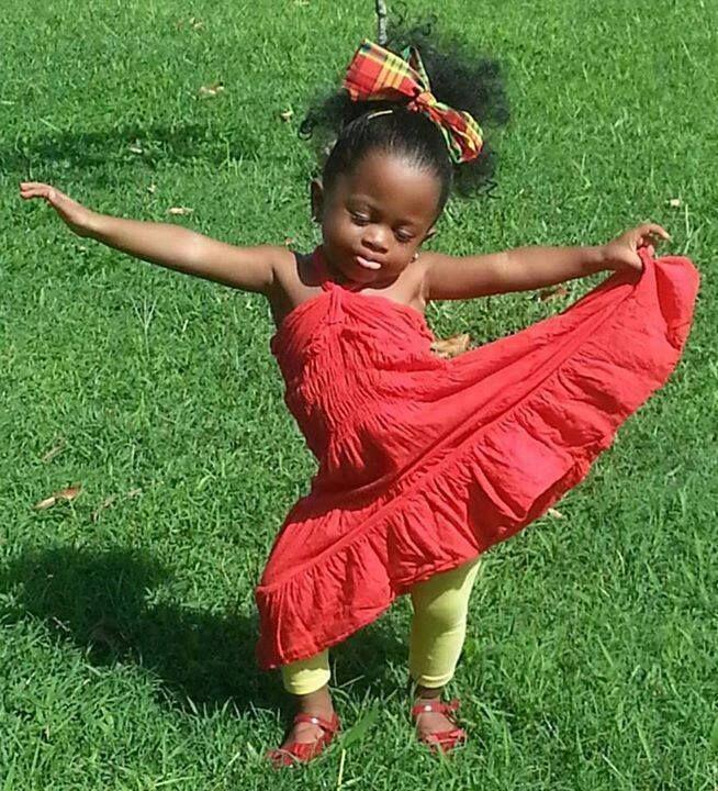 Enjoy the season like this adorable little girl dancing ...