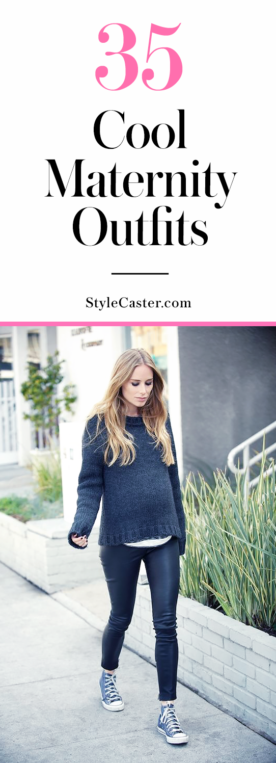 Pregnant Street Style: 50 Ways to Look Chic While You\u0027re Expecting ...