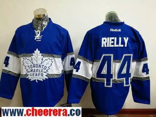 best sneakers b4a90 1631f Men's Toronto Maple Leafs #44 Morgan Rielly Blue 2017 ...