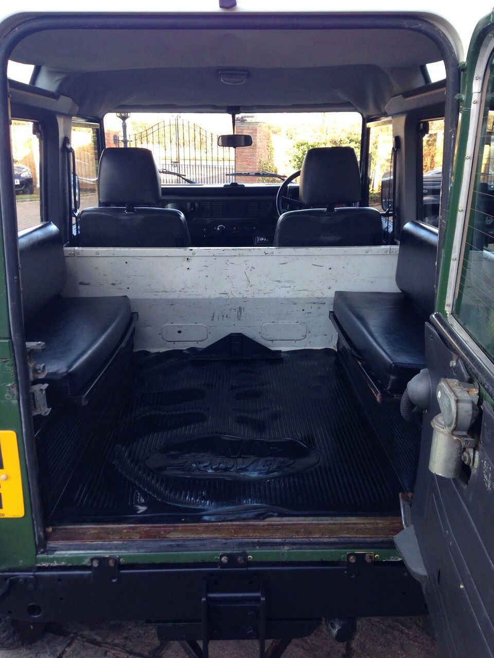 Defender 90 200tdi Roof Console Rdx Top Pod Landrover