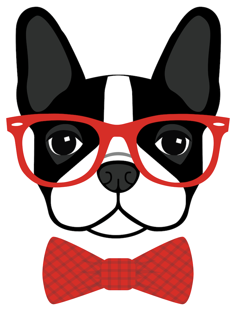 image result for boston terrier with glasses clip art boston rh pinterest com Boston Terrier Graphic boston terrier clipart for the 4th of july