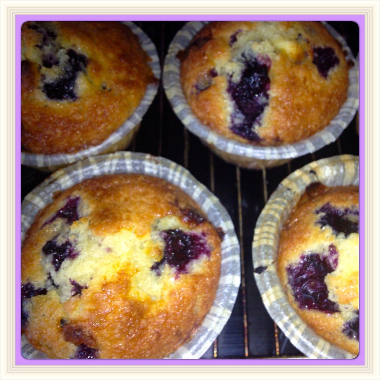 Nemme Og Lækre Opskrifter Der Virker Nemme Blåbær Muffins Med Hvid