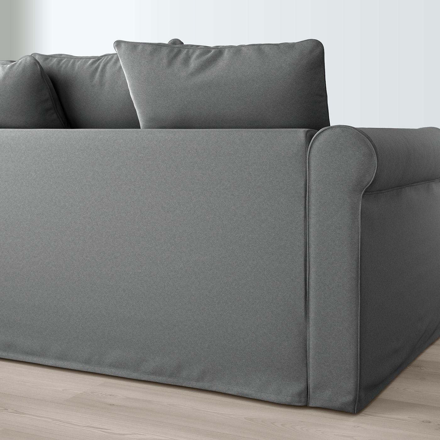 Ikea Gr Ouml Nlid Ecksofa 4 Sitzig Ljungen Mittelgrau In 2020 Sofa Ecksofa 3er Sofa