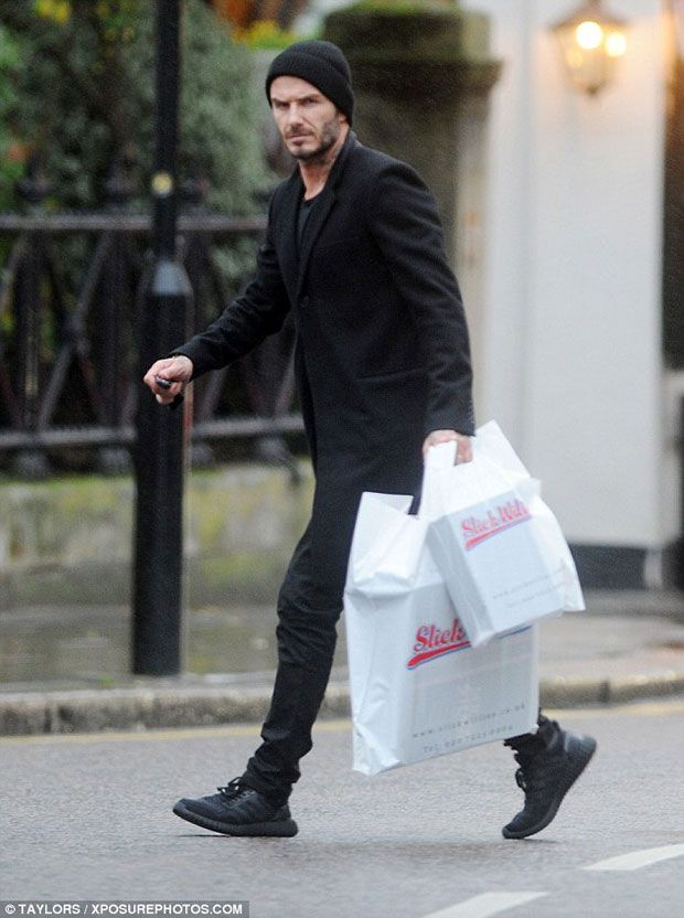 An adidas Yeezy Ultra Boost Exists, And David Beckham Has
