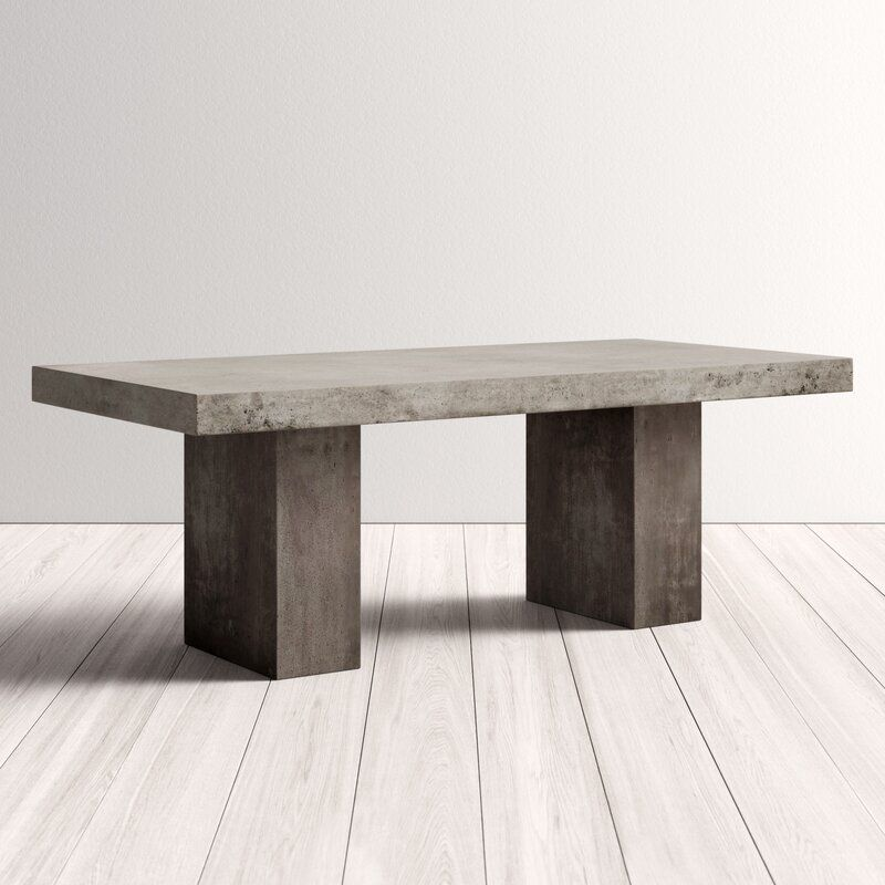 38++ Concrete dining table with bench Top