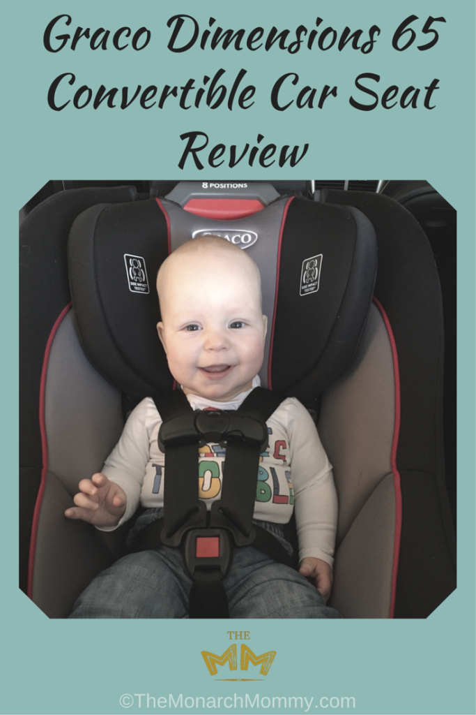 Graco Dimensions 65 Convertible Car Seat Review New Baby