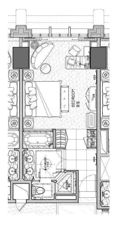 Nantong Jinshi International Hotel Hotel Floor Plan Hotel Room Plan Hotel Room Design