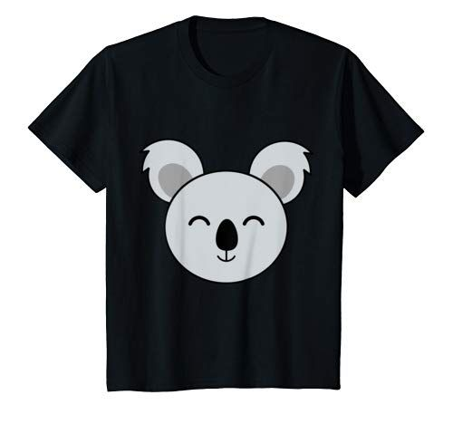 Big Koala Face Costume Cute Easy Animal Halloween Gift T Shirt Youth #area51partyoutfit