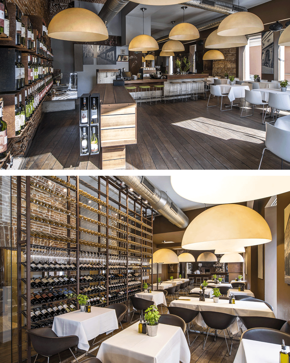 baracca | Restaurant and wine shop in downtown Cluj.
