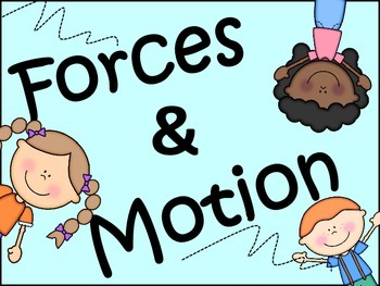 Science: Forces and Motion | Force and motion, Gravity experiments, Writing activities