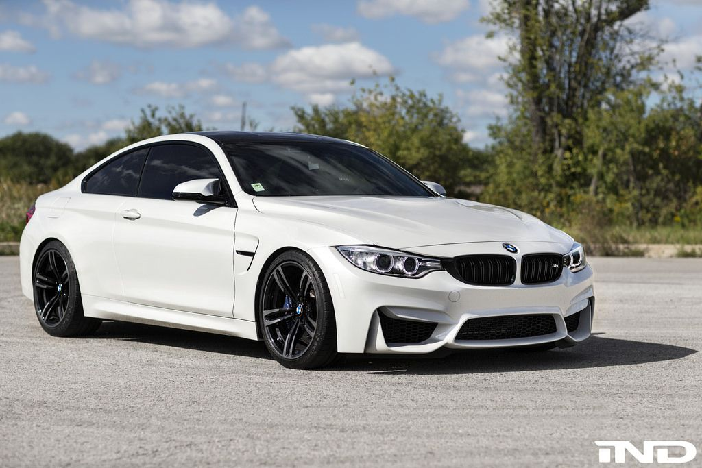 Mineral White BMW M4 Build By IND Distribution Bimmers