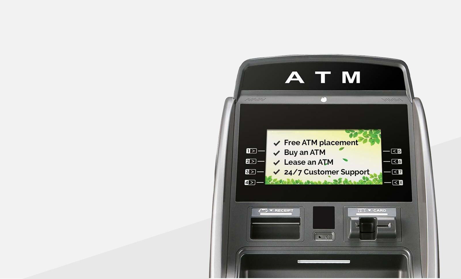 Pin on atms