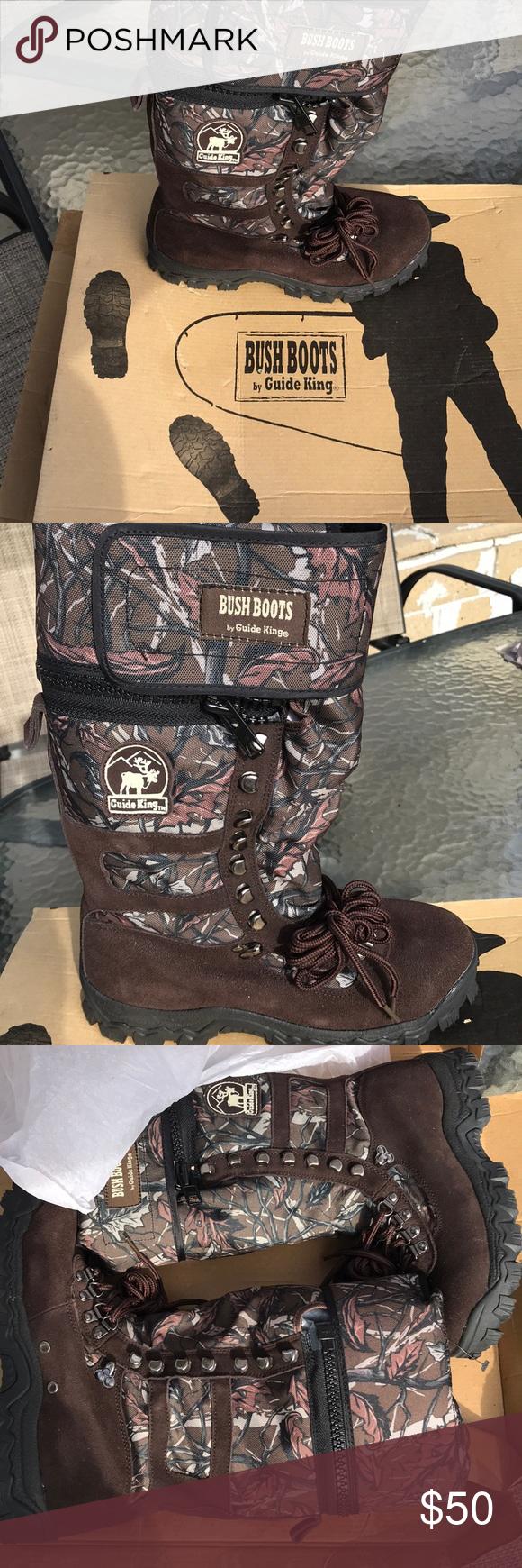 Bush boots 👢 by guide king nwt | my posh picks | pinterest.
