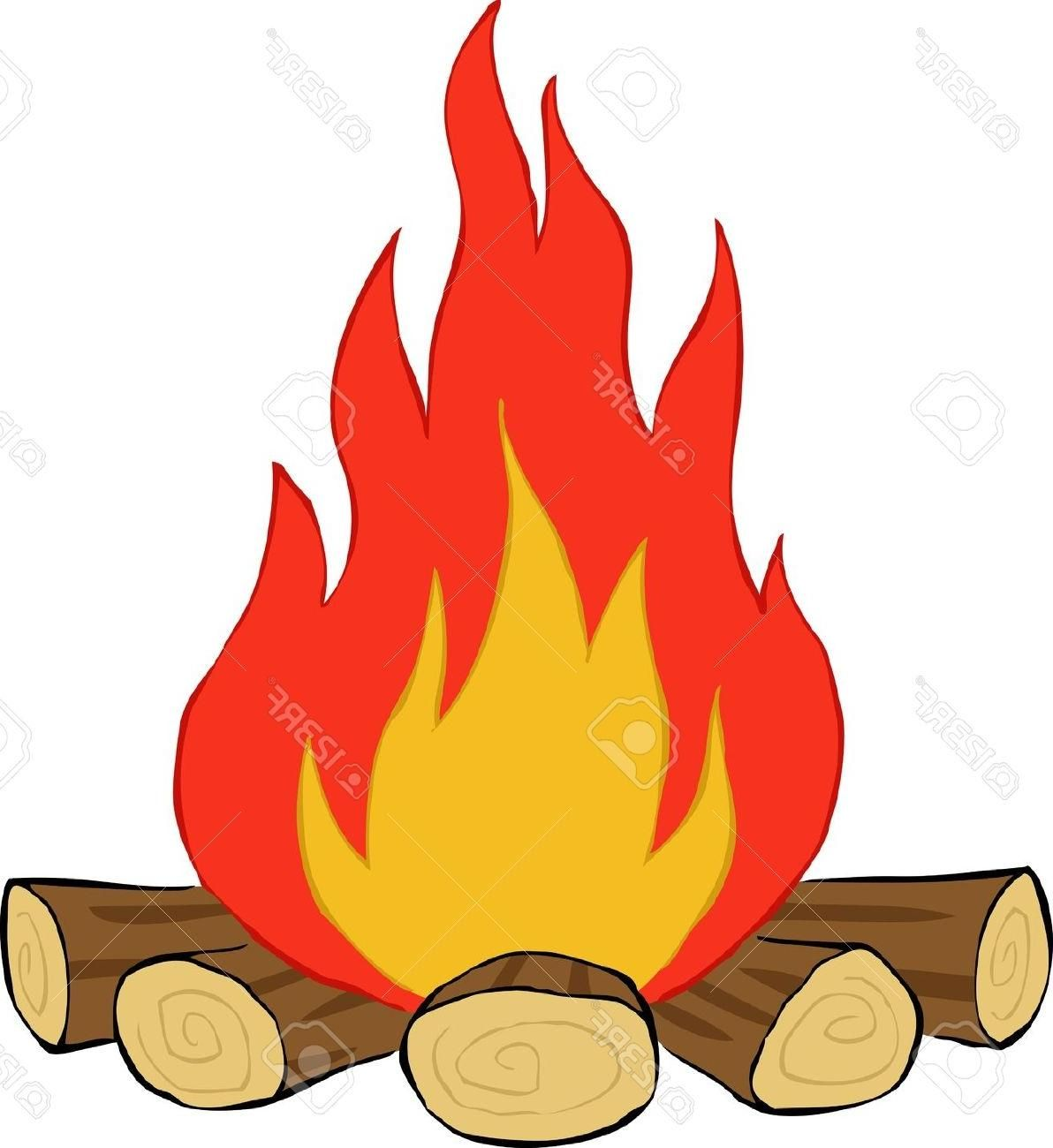 Best Free Camp Fire Clipart Log Images Clip Art Fire Image Log Image