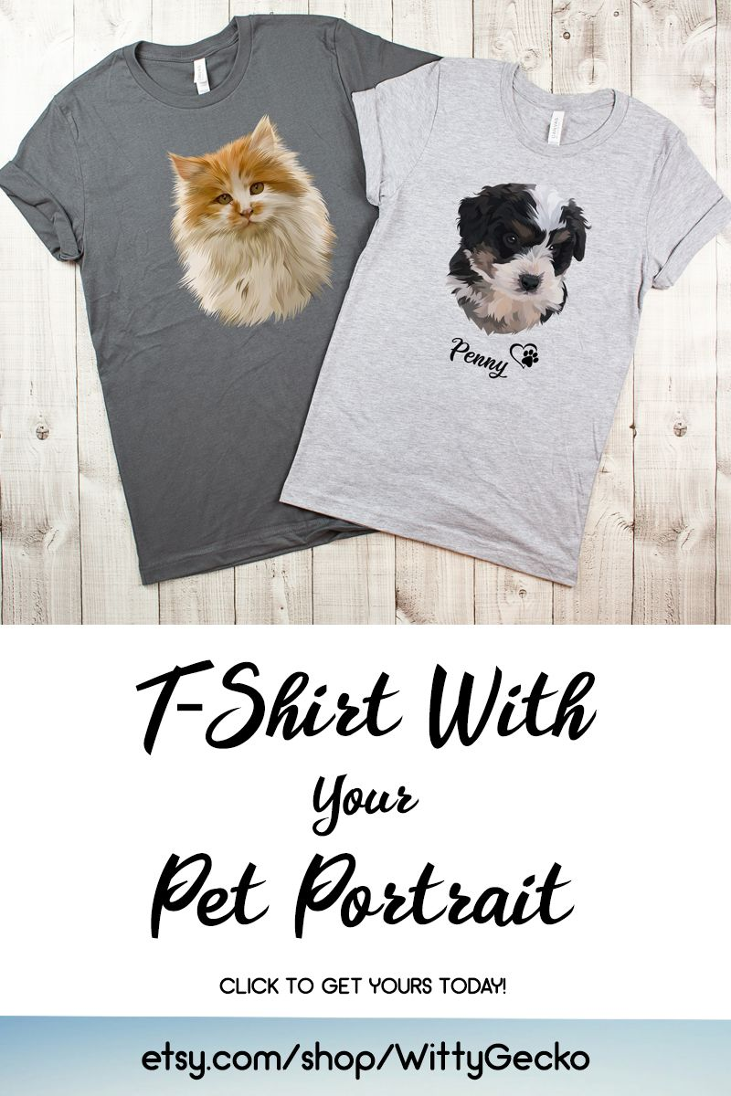 Put A Picture Of Your Dog On A Shirt