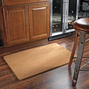 Natural Cork Floor Mat Interiores