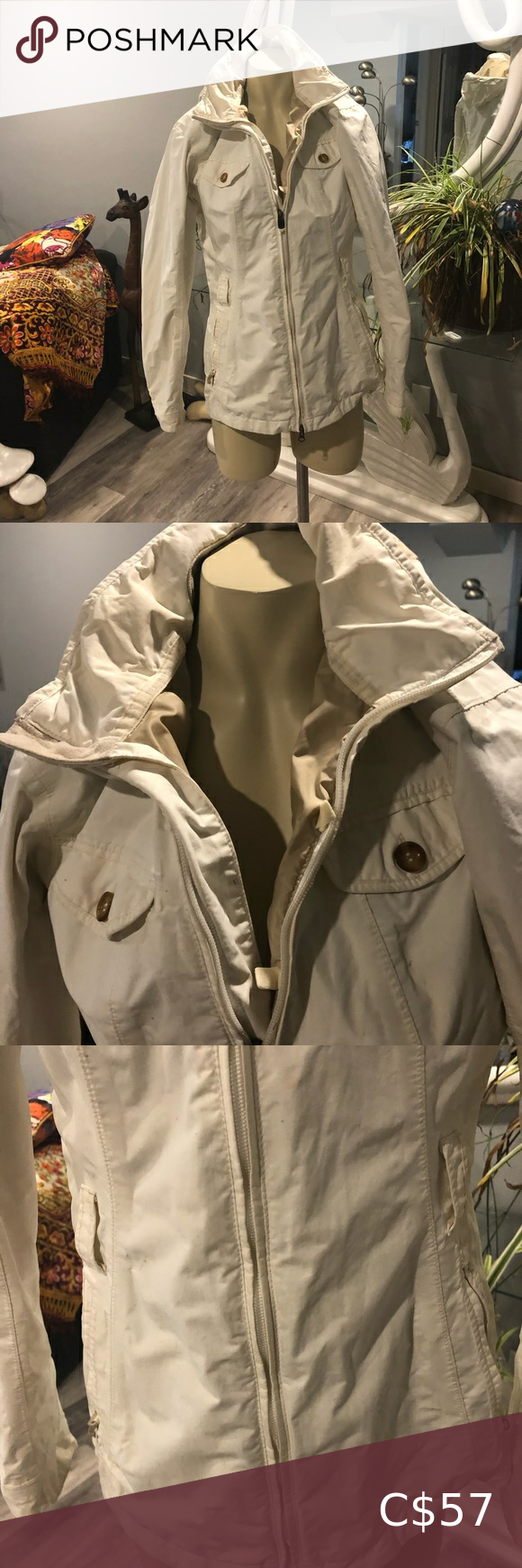 North Face Cream Coloured Lightweight Jacket North Face Jacket Womens White North Face Jacket North Face Puffer Jacket [ 1740 x 580 Pixel ]