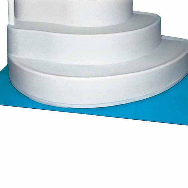 horizon ventures 4 ft x 5 ft deluxe in pool ladder step liner pad