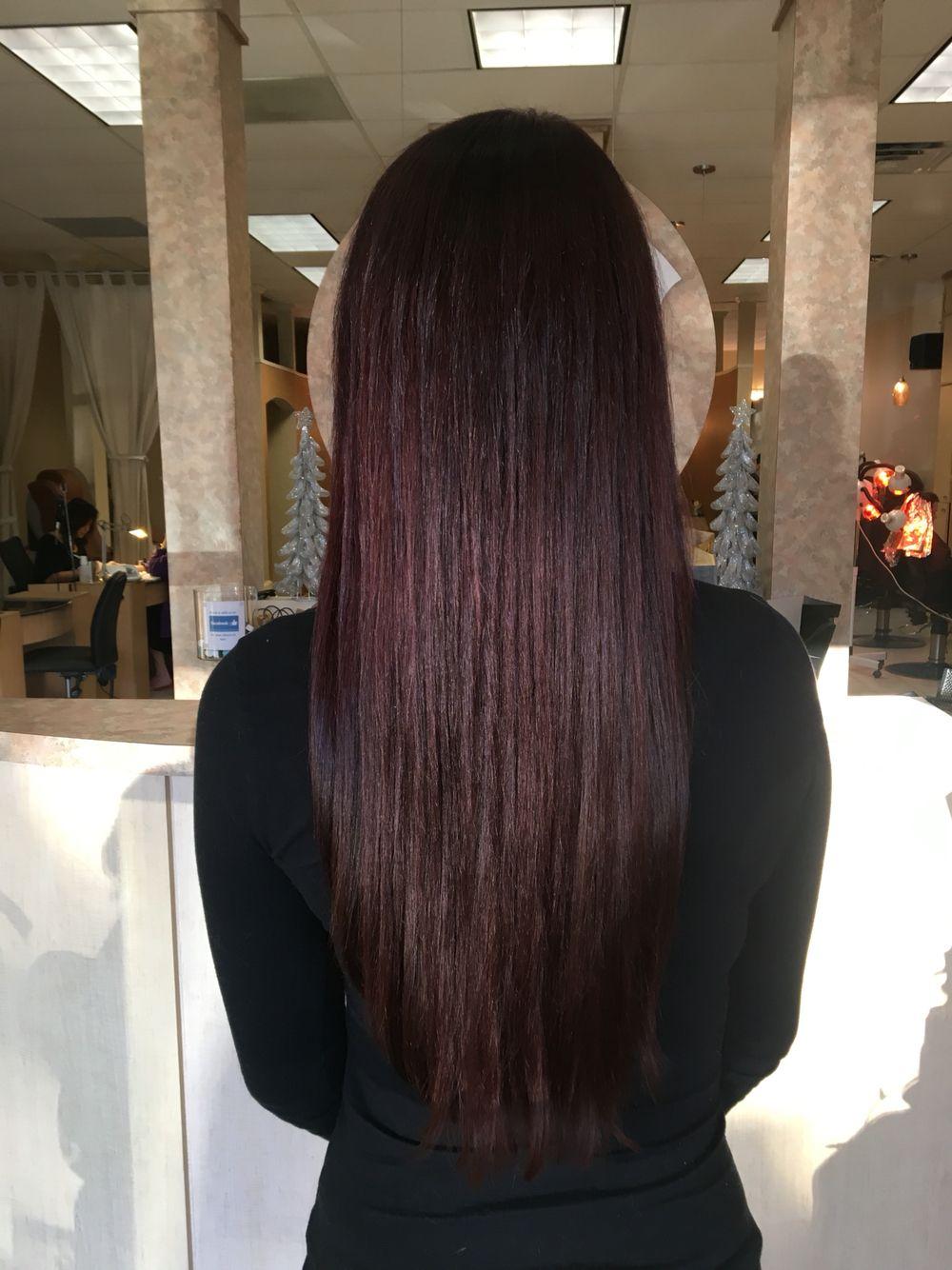 Red violet dark brown hair color long hair straight long layers red violet dark brown hair color long hair straight long layers pmusecretfo Gallery