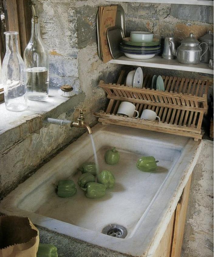 lavelli-cucina-pietra-marmo-bianco.png (705×849) | La Cucina ...