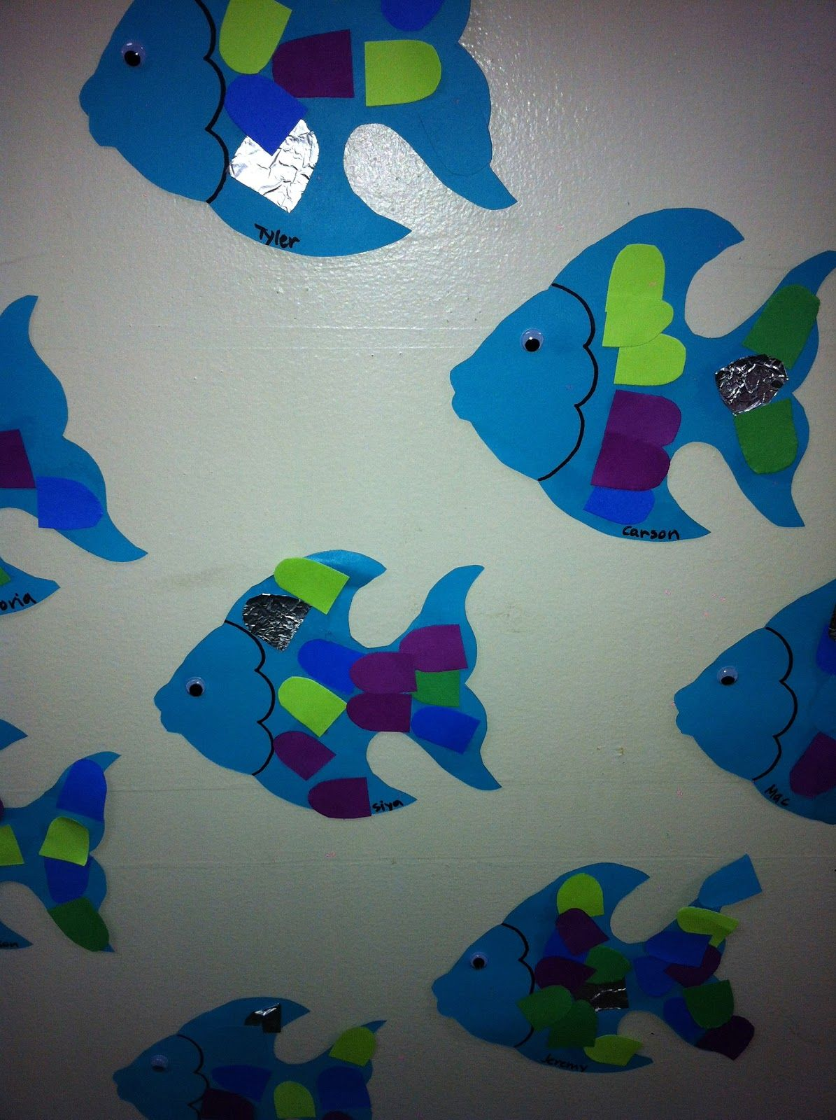 Library Learners Rainbow Fish Activity