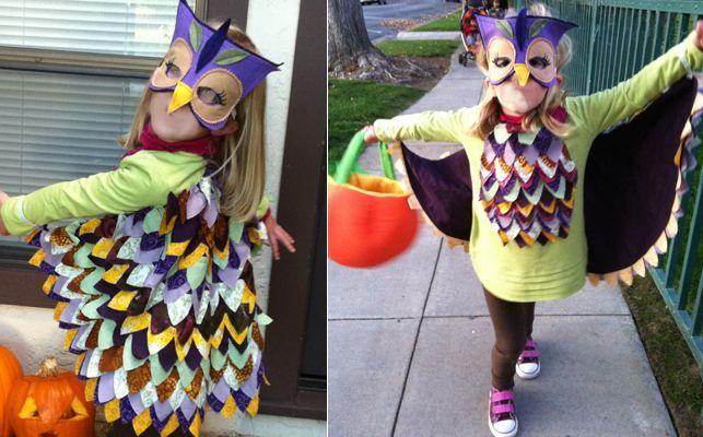 Fun colorful owl costume homemade costumes owl pinterest fun colorful owl costume owl costume diycostume solutioingenieria Images