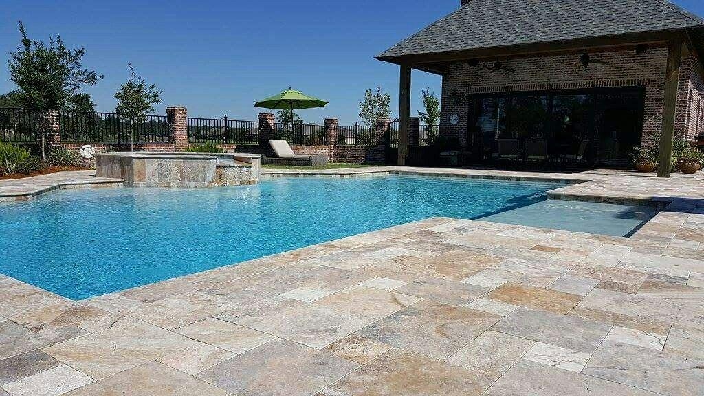 Pin By Sabine Pools Spas Amp Furniture On Custom Inground Swimming Pools Swimming Pools