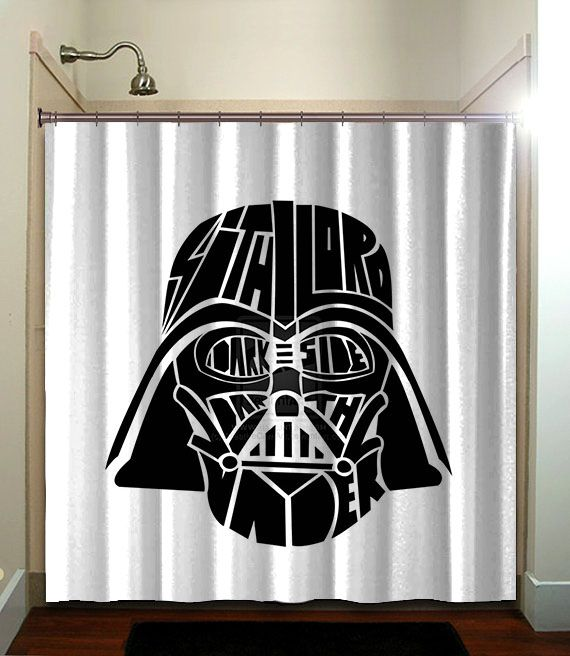 Darth Vader Modern Artworkshower Curtain Bathroom Home Decor