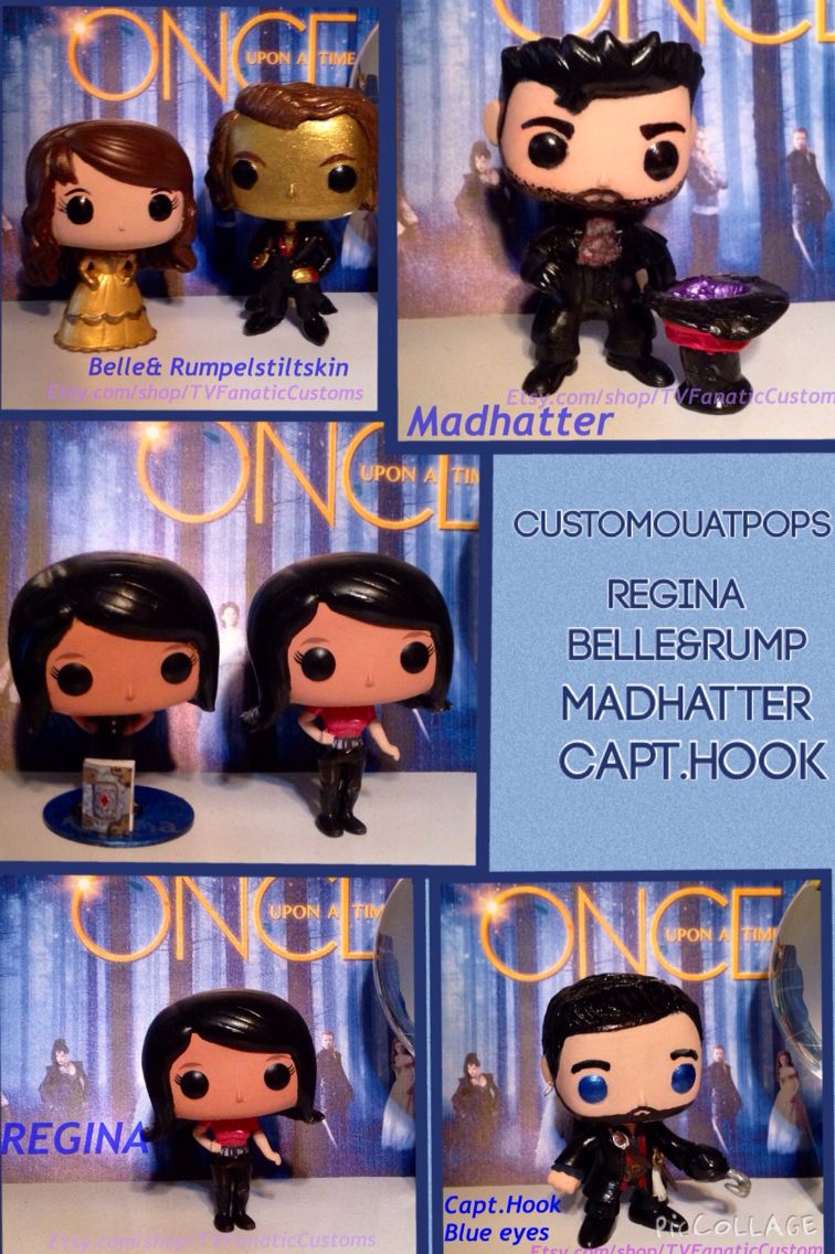 Custom Ouat Funko Pops We Made And Sell On Etsy Com Shop