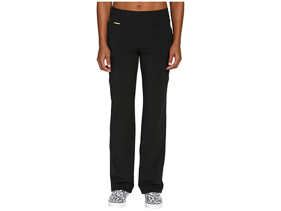 Lole Refresh Pants Black Womens Casual Pants Freshen up your workout wardrobe with these Lolë pants Relaxed fit pant boasts a low rise Recycled Stretch Momentuma fou...