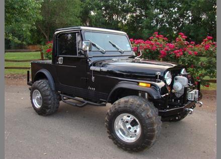 Jeep Cj 7 Half Cab Black Like My Project Pretty Nice Jeeps