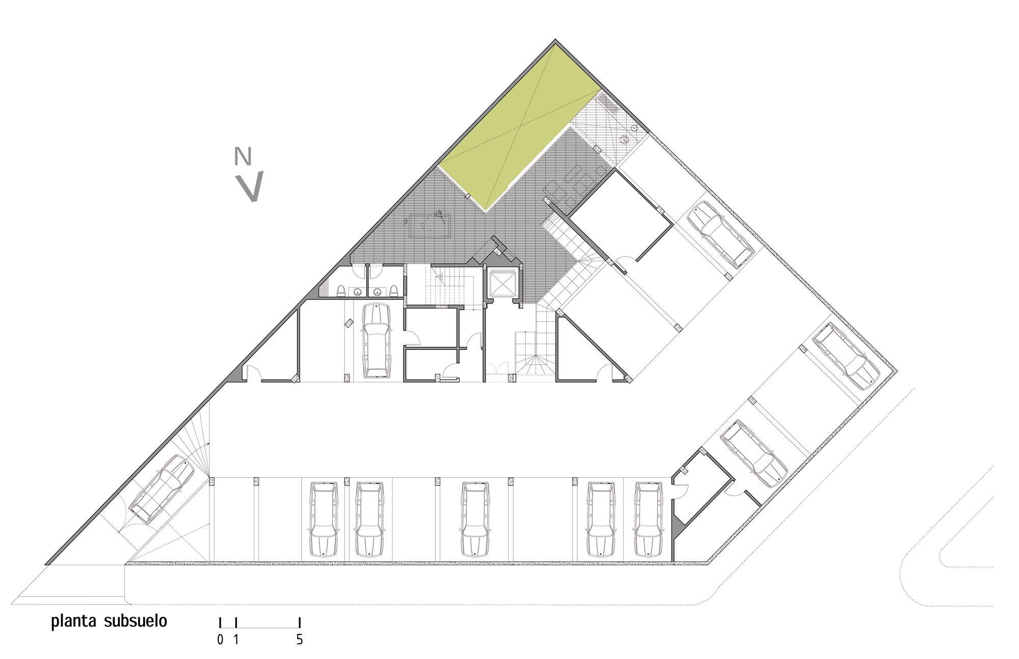 Edificio MZ / Diez + Muller Arquitectos