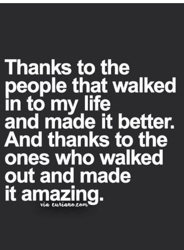 Curianocom Thanks To People That Walked Into My Life And Made It