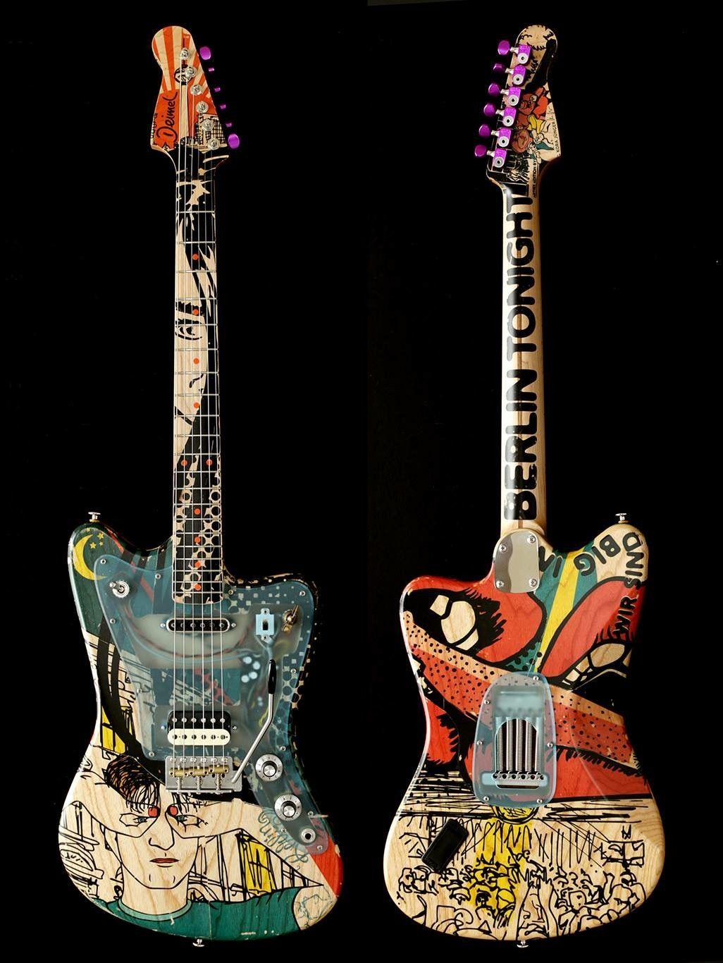 Deimel Guitar Painting Guitar Design Guitar Art