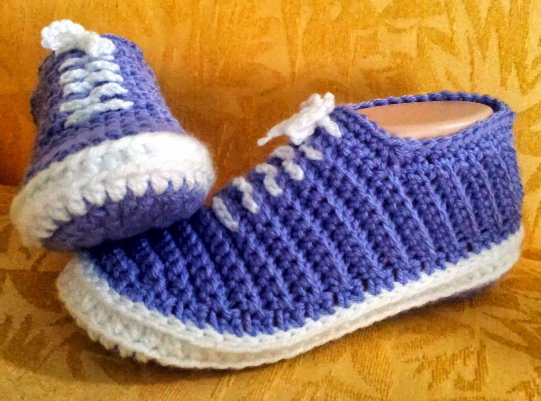 Crochet Sneakers Vans Slippers | Crocheted slippers, Pdf and Vans