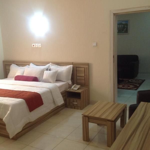 Peace Media Hotels Boasting A Bar Shared Lounge And Views Of Garden Peace Media Hotels Is Situated In Abuja 42 Km From Big Church Hotel Hotels Room Home Decor