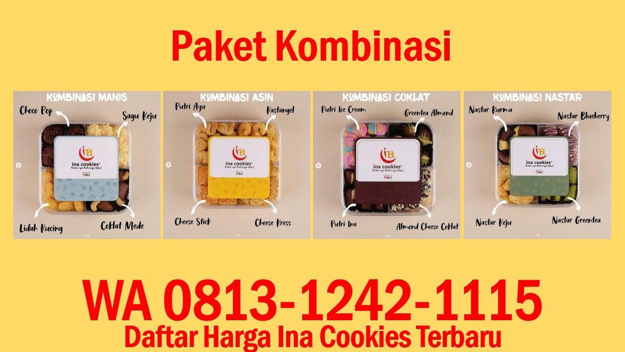 Daftar Harga Ina Cookies Terbaru Wa 0813 1242 1115 Kue Kering Keju Coklat