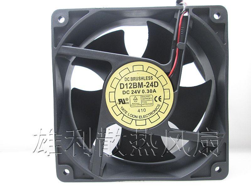 Free Delivery 12038 24v 0 3a 12cm Industrial Cooling Fan D12bm 24d
