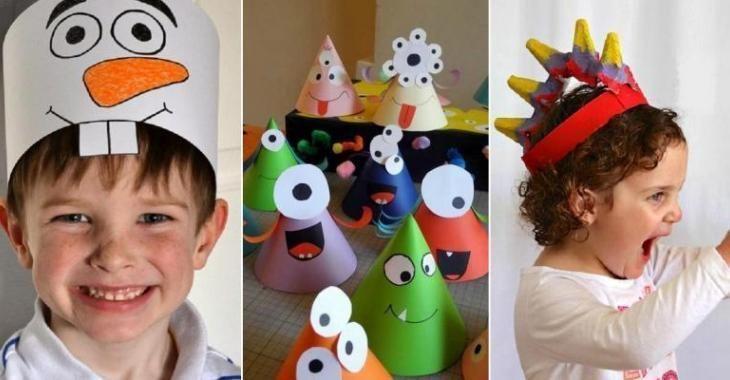 vente la moins chère gamme exceptionnelle de styles boutique officielle 30 chapeaux rigolos à bricoler avec les enfants! Des idées ...