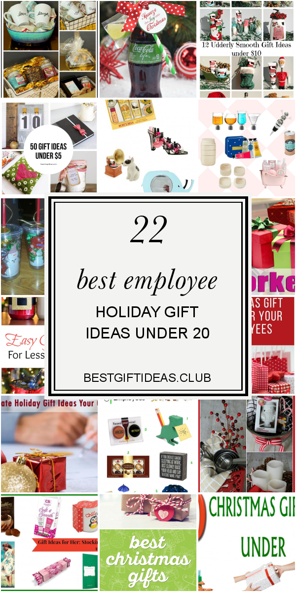 22 Best Employee Holiday Gift Ideas Under 20 Employee Holiday Gifts Employee Christmas Gifts Employee Gifts