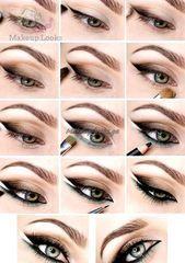 Stilunterricht: 15 beste Ideen für Augen Make-up mit Anweisungen Stilunterrich... - Welcome to Blog
