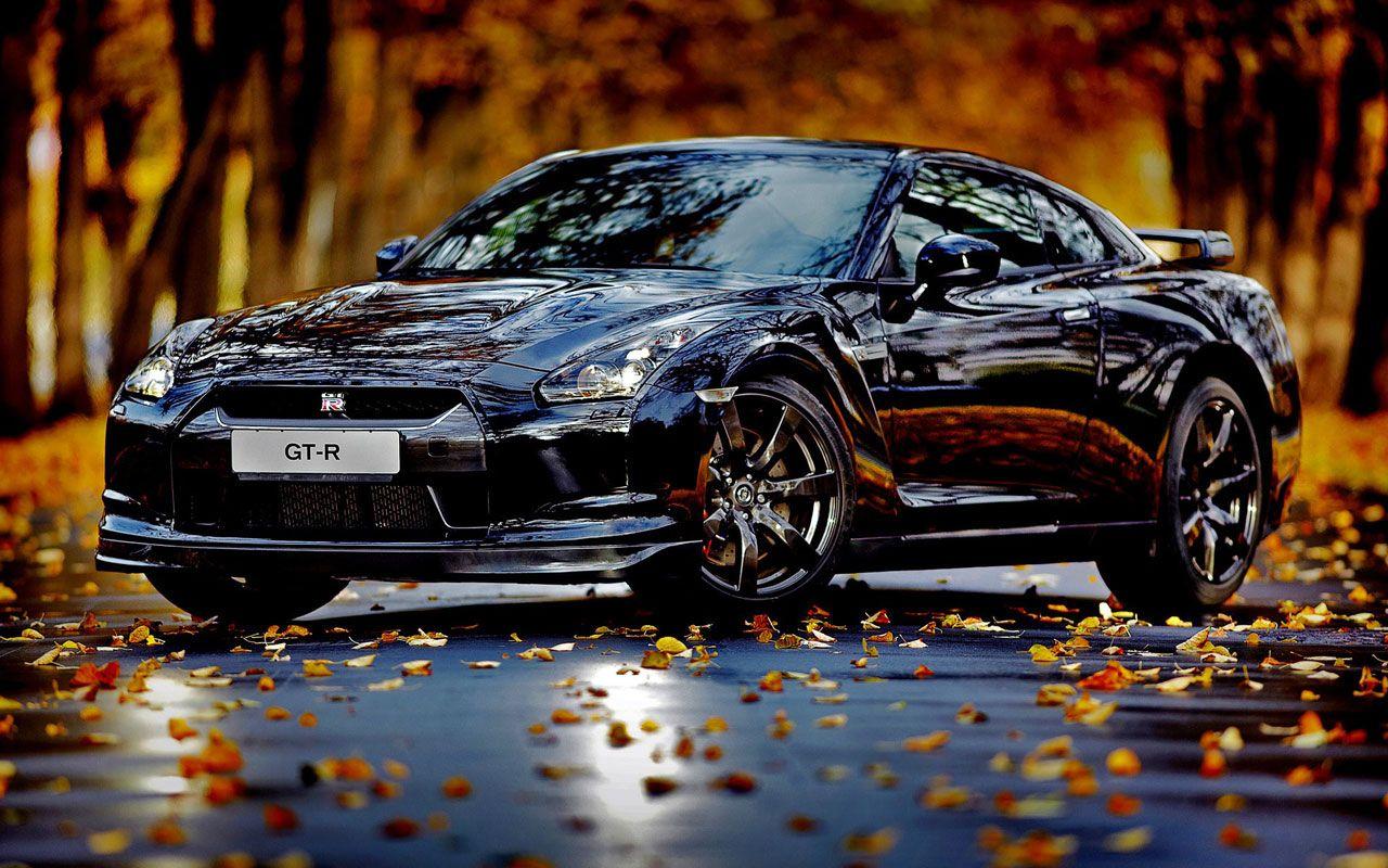 Latest Japanese Sports Cars Hd Wallpapers Nissan Gtr Black Car Backgrounds Nissan Gtr