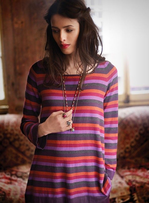Stunning stripes bringing together the highlight colours for our season of gypsy inspired delights.