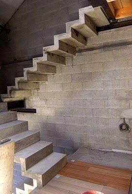Studio cnc scala in cemento armato pj bernate spunti pinterest scala e idee - Scale in cemento armato ...
