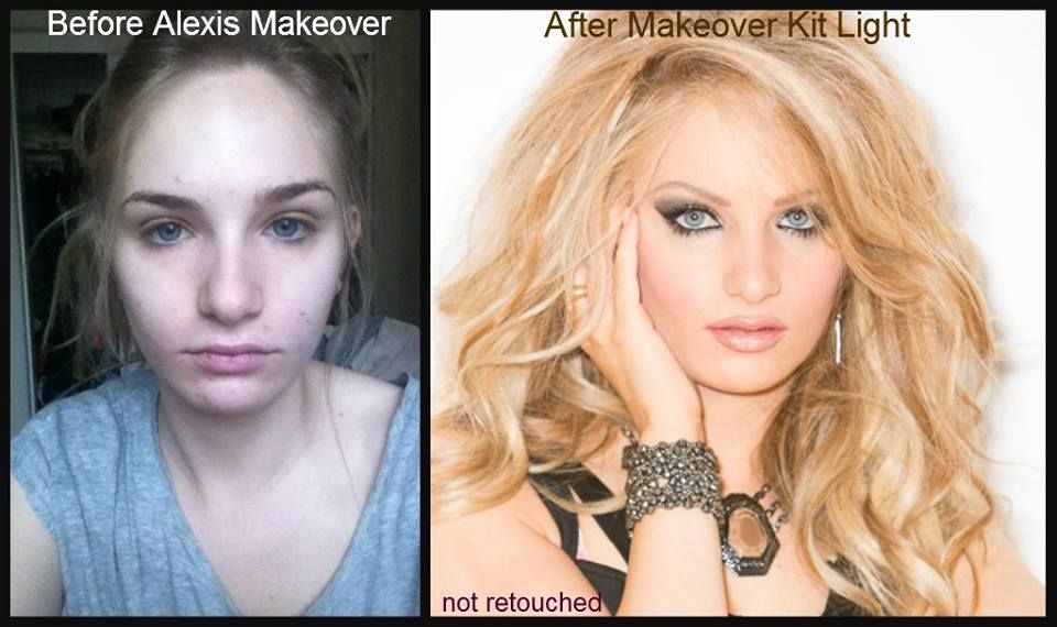 Before and After Makeover by Alexis Vogel using Alexis Vogel Make ...