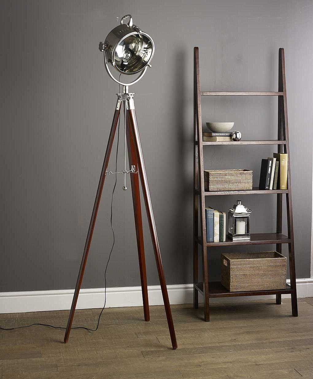 practical tripod bases floor lamp for cool living room lighting fixtures:  stylish tripod floor lamp