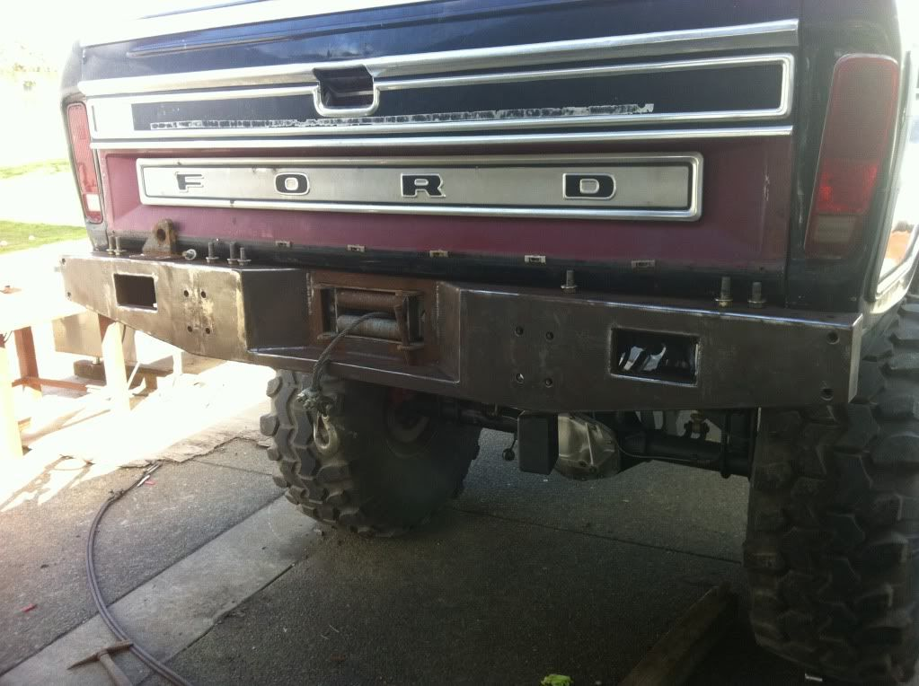 Image Result For Diy Truck Rear Bumper Trucks Cool Trucks Ford 4x4