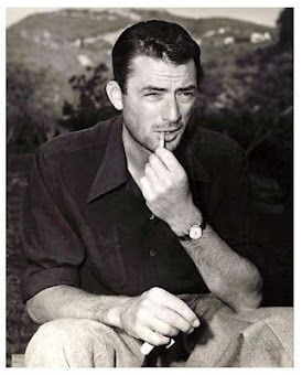 Gregory Peck. The handsomest man I've ever seen in real life. The movies didn't do him justice if you can believe it. #hollywoodmen